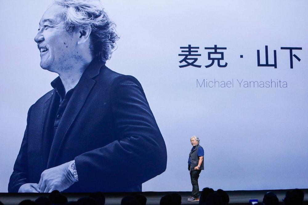 National Geographic Photographer and Sony China Ambassador Michael Yamashita