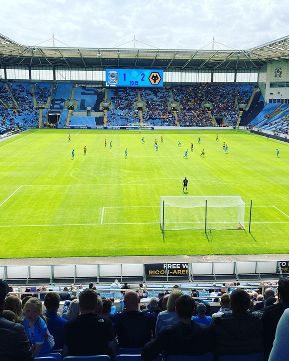 Total Cov Blog #1 - Coventry City 1-2 Wolverhampton Wanderers, 01.08.2021