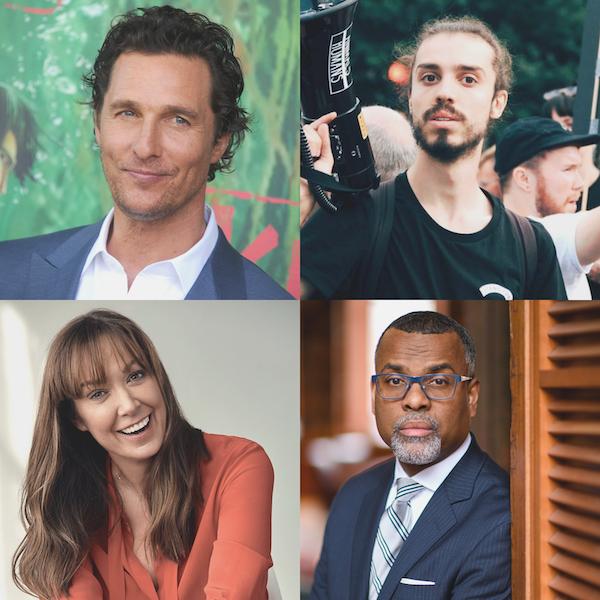 Matthew McConaughey, Ed Winters, Elizabeth Marvel, and Eddie S. Glaude, Jr. Image