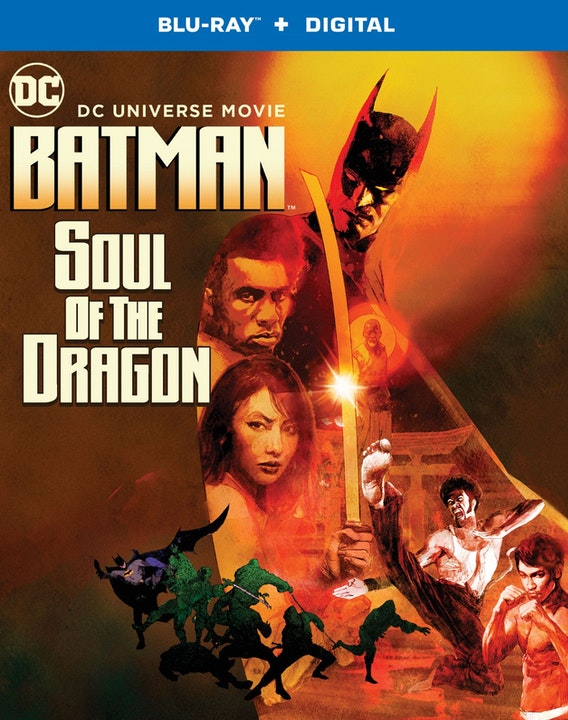 BATMAN SOUL OF THE DRAGON CLIPS