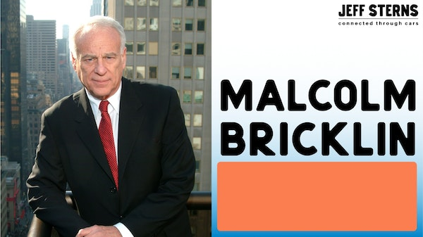 Malcolm Bricklin - the whole story (audio only) Image
