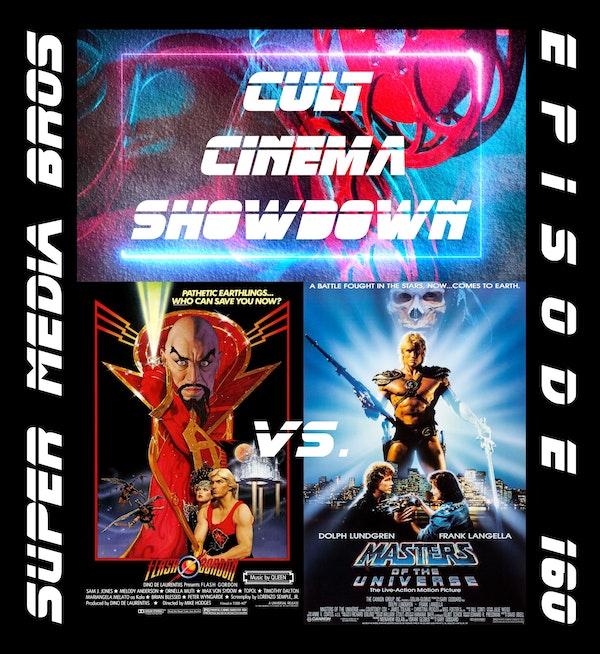 Cult Cinema Showdown 67: Flash Gordon vs Masters of the Universe (Ep. 160) Image