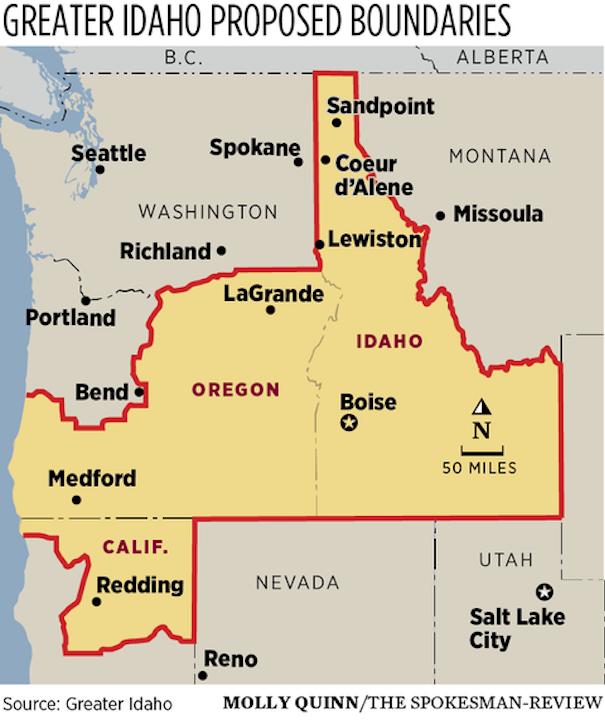 Orexit: 5 Oregon counties vote to join Idaho