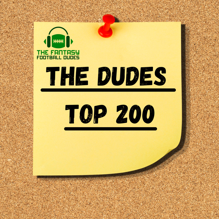 The Dudes Top 200 (8/13/21)