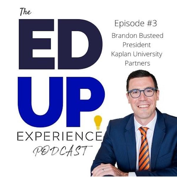 3: Brandon Busteed, President, University Partners and Global Head Image