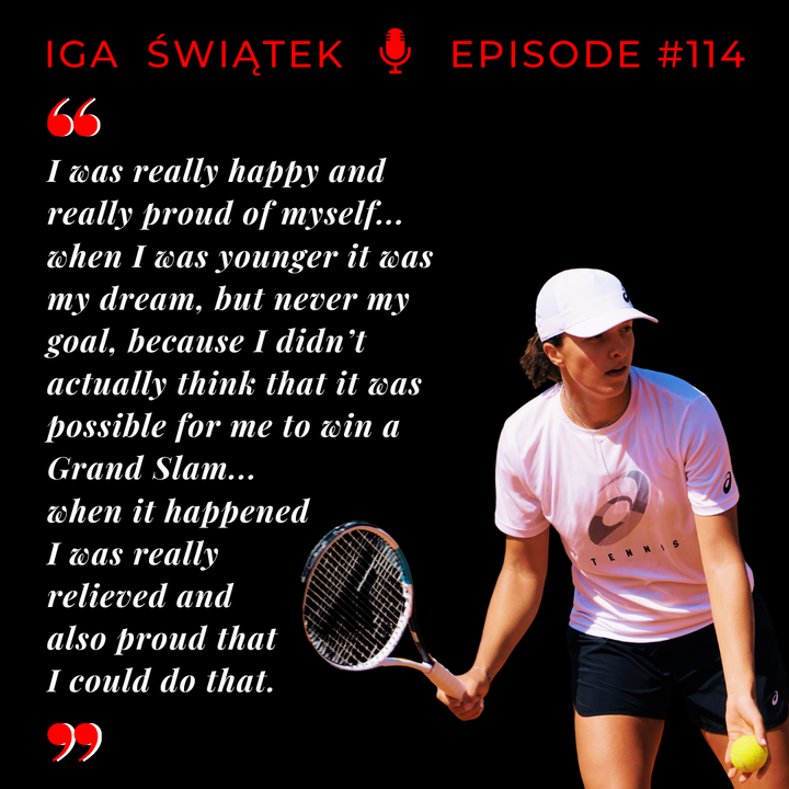 Episode 114: Iga Swiatek - Teenage Grand Slam Champion