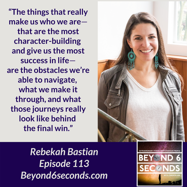 Episode 113: Micro-acts of mentorship for women -- with Rebekah Bastian Image