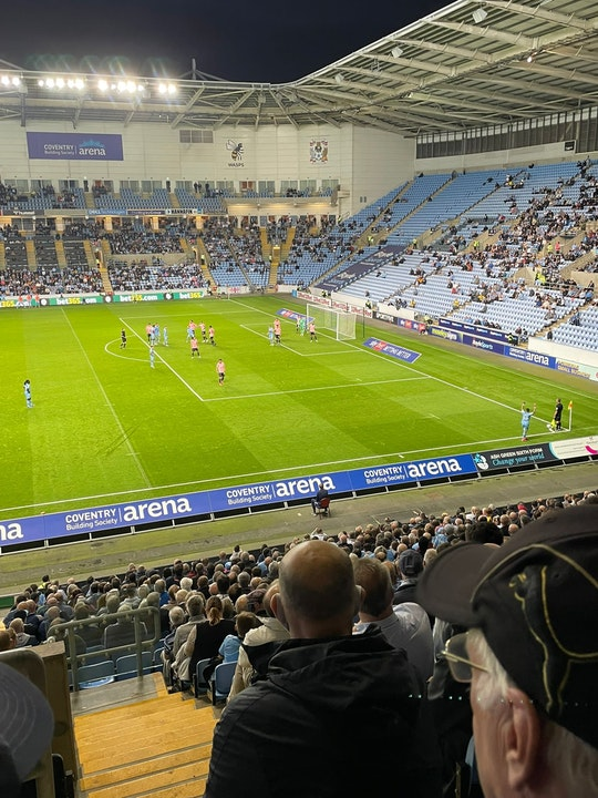 Total Cov Blog #8 - Coventry City 1-0 Cardiff City, 15.09.2021.