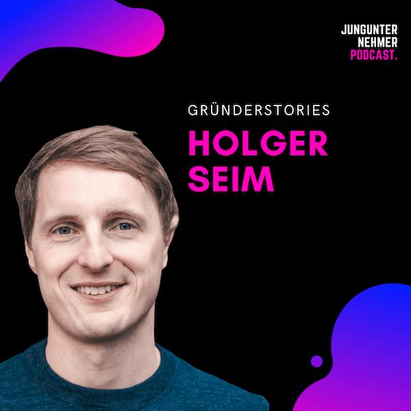 Holger Seim, Blinkist | Best of Jungunternehmer Podcast Image