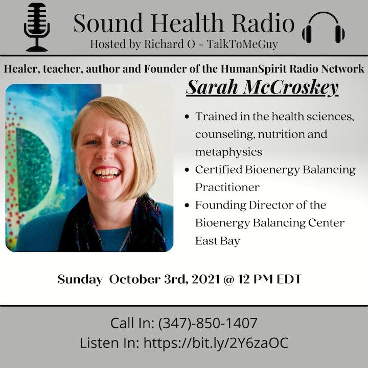 Sarah McCroskey- Founder of the HumanSpirit Radio Network