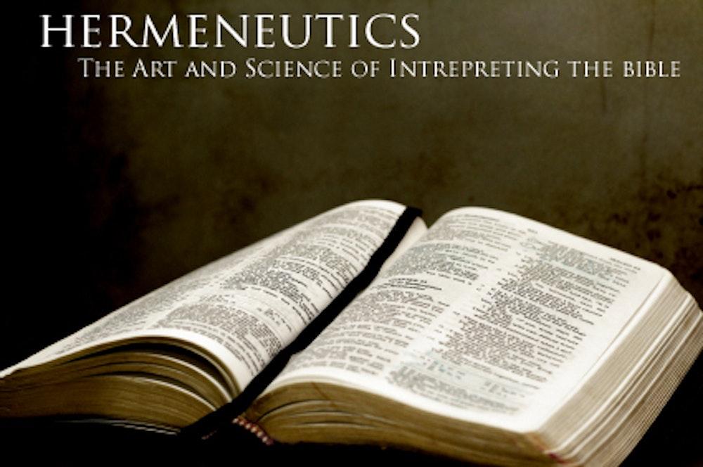 Chicago Statement on Biblical Hermeneutics