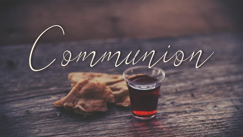 Communion and Coronavirus