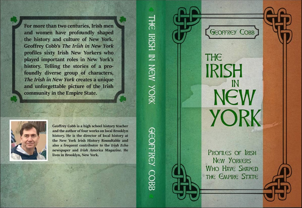 ***Publication Alert: Geoff Cobb's The Irish in New York***