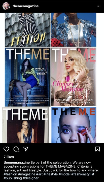 My Submission To Theme Magazine