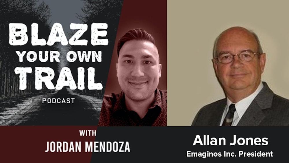 InvestorBrandNetwork Announces Blaze Your Own Trail Podcast with Emaginos Inc. President Allan Jones