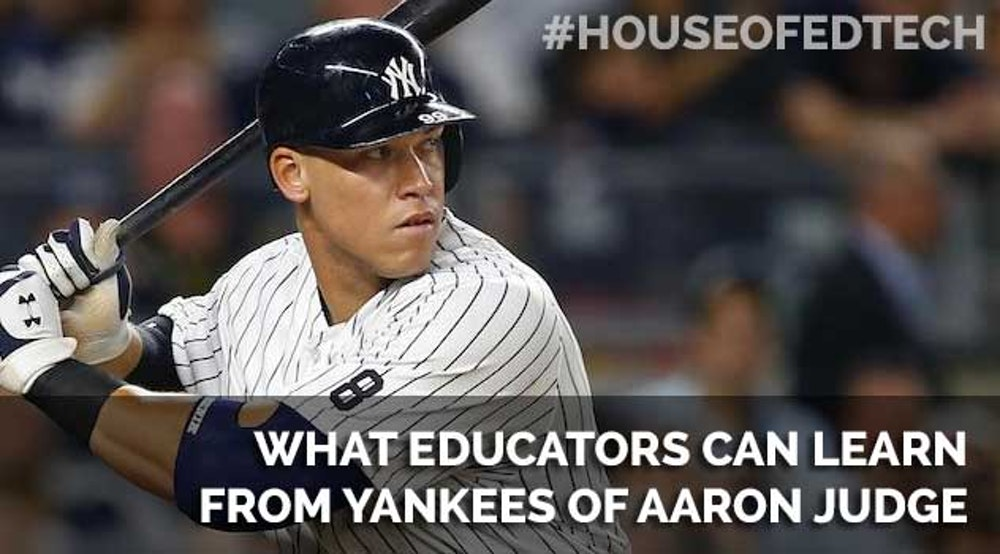 What Educators Can Learn From Yankees OF Aaron Judge