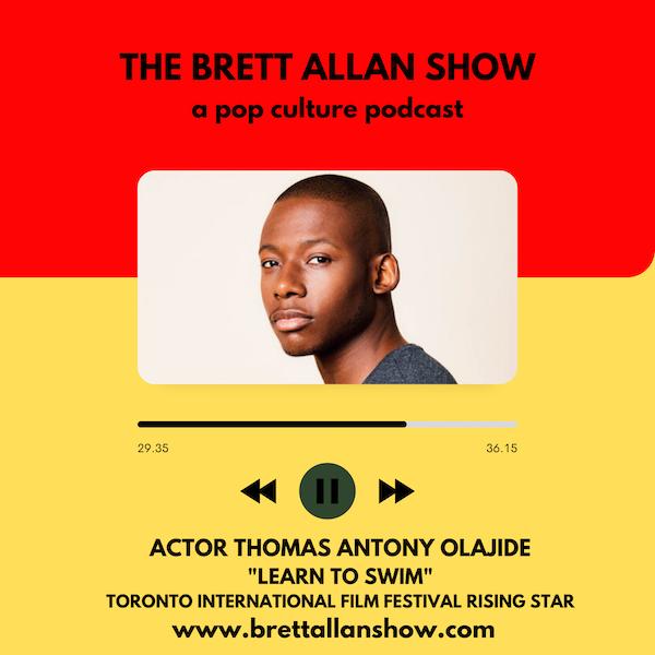 "Actor Thomas Antony Olajide Talks About His Feature Film ""Learn To Swim"" | Toronto International  Film Festival"