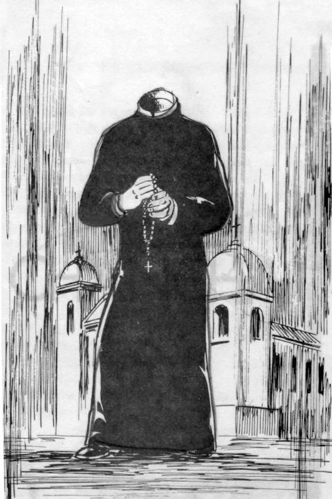 El Padre Sin Cabeza (the Headless Priest)