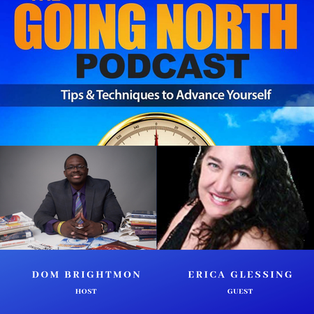 "134 - ""The Courage Self-Love Journey"" with Erica Glessing (@EricaGlessing) Image"