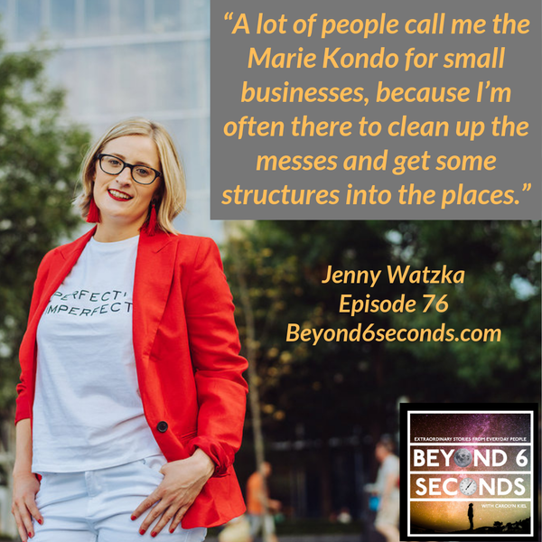 Episode 76: Jenny Watzka – Building a profitable consulting firm while traveling full time Image