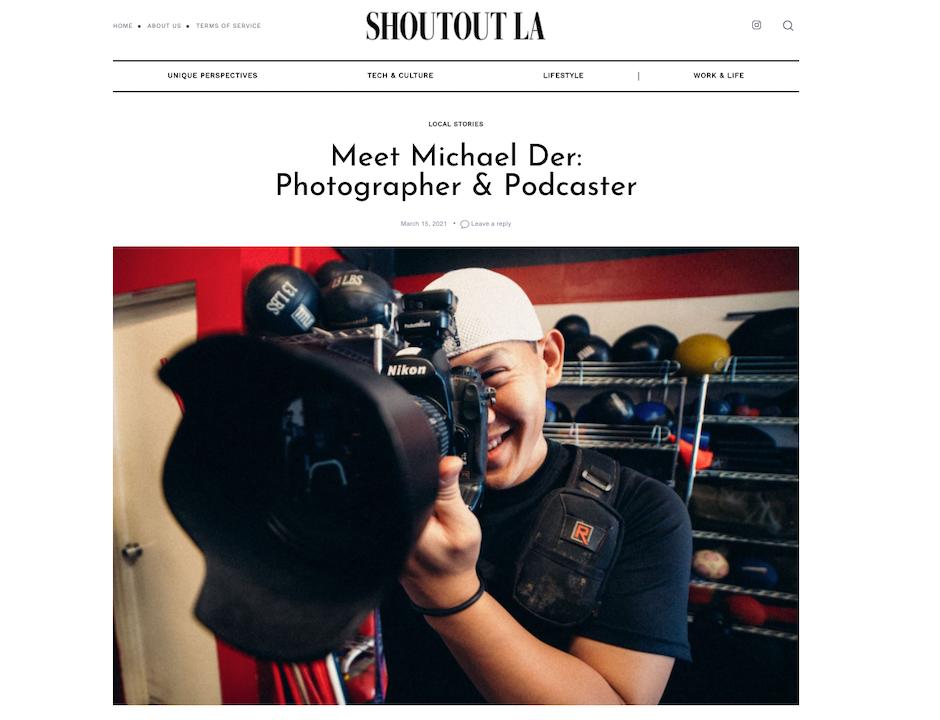 Shoutout LA - Michael Der