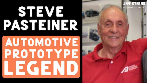 Legendary prototype builder STEVE PASTEINER clips. Buick Blackhawk-'53 Commemorative Edition 'Vette. Image