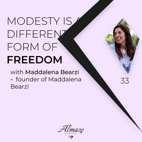 #33 Modesty in fashion and jewellery is a different form of freedom - Maddalena Bearzi Image