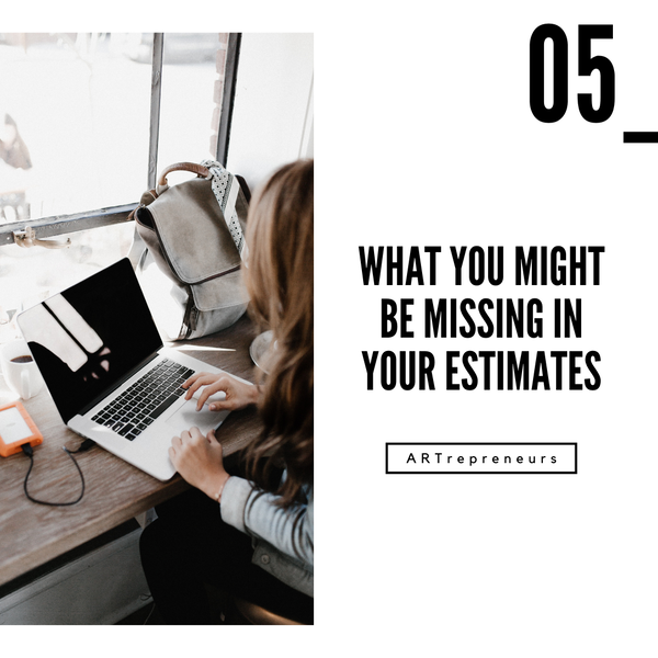 What you might be missing in your estimates Image