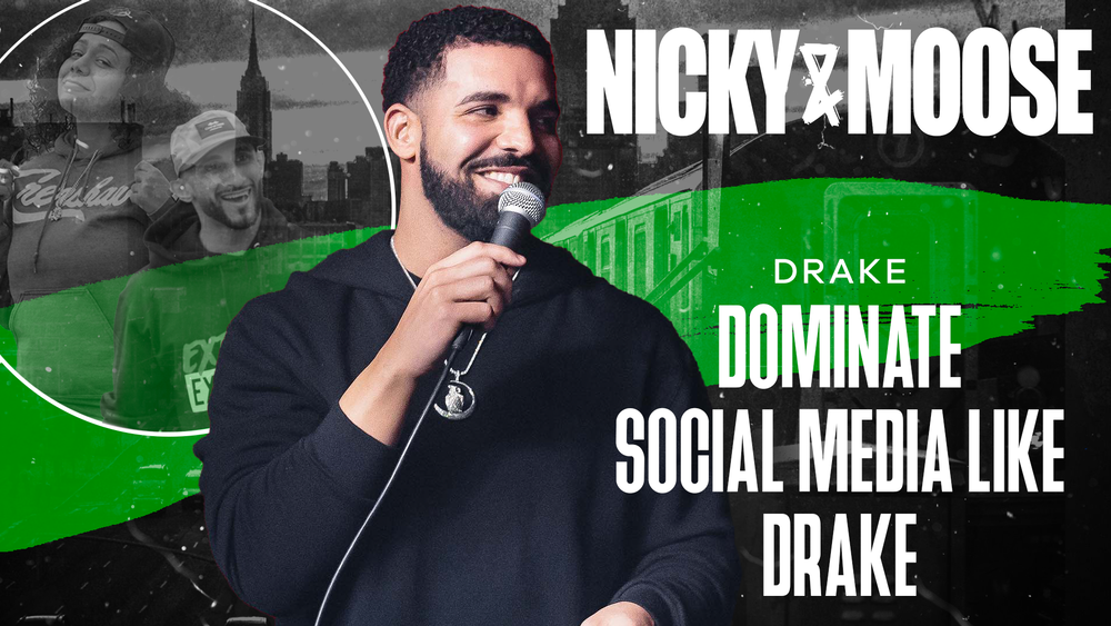 Dominate Social Media Like Drake