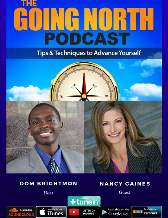 """8 - """"Gain the Advantage"""" with Nancy Gaines (@NancyLGaines) Image"""