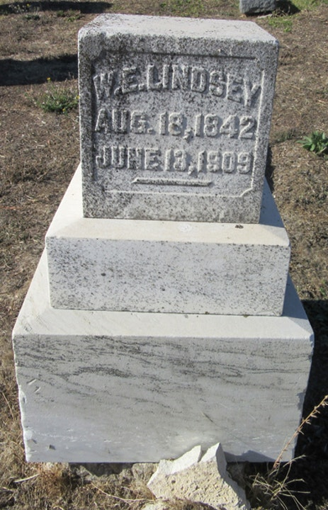 Episode 26 - Stonecutter W.E.Lindsey and the Genoa Cemetery in Genoa,  Nevada Image