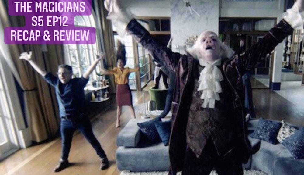 E97 Rooks & Vets! The Magicians Season 5 Episode 12