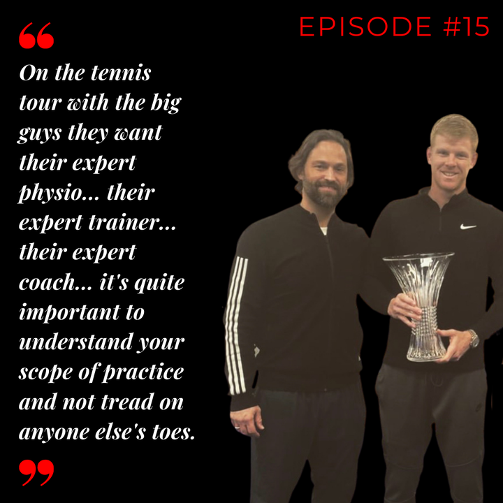 Episode 15: Will Herbert - Tour Physio