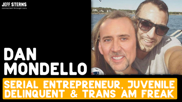 Dan Mondello - Trans Ams, Dealer marketing, police stops, cannabis Image