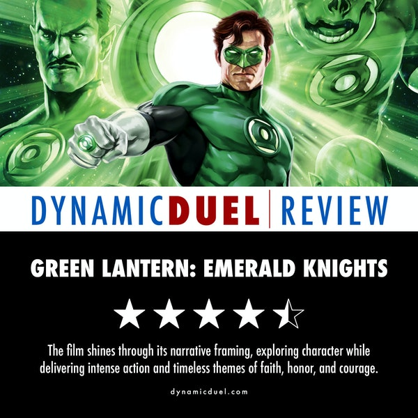 Green Lantern: Emerald Knights Review Image