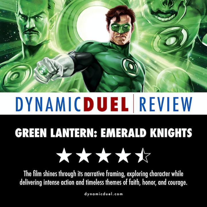 Green Lantern: Emerald Knights Review