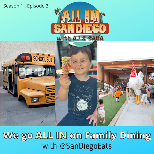 ALL IN on Family Dining with @SanDiegoEats Image