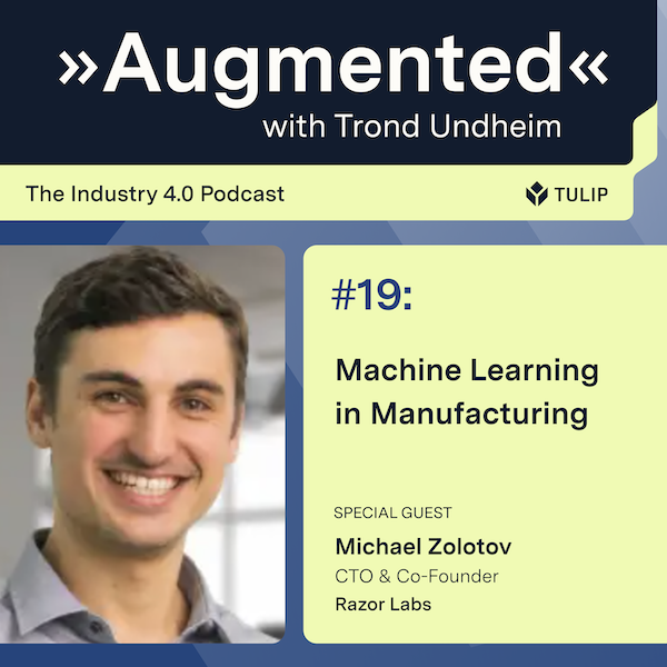 Machine Learning in Manufacturing Image