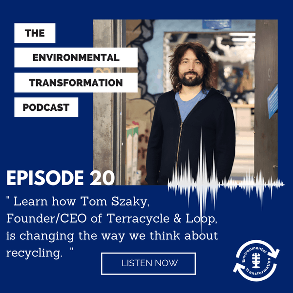Learn how Tom Szaky, Founder/CEO of Terracycle & Loop, is changing the way we think about recycling. Image