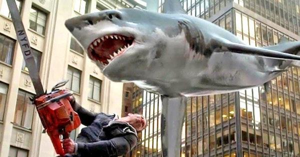 Sharknado 5: Global Swarming & X-Men Animated Series Image