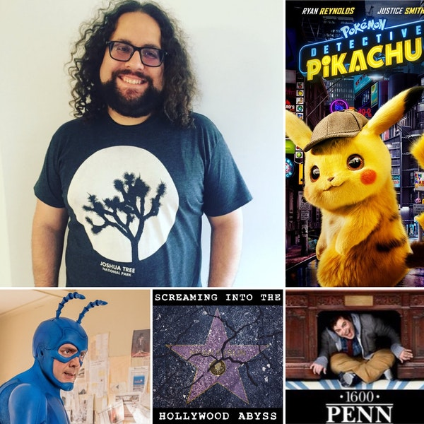 Take 4 - Screenwriter Dan Hernandez, Detective Pikachu, the Tick and 1600 Penn.