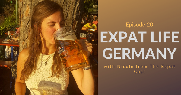 Discussing German stereotypes with Nicole from The Expat Cast Image