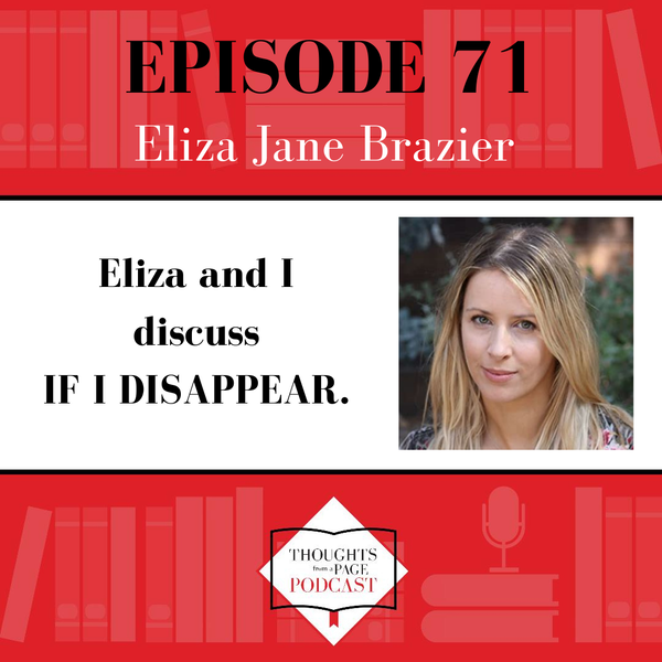 Eliza Jane Brazier - IF I DISAPPEAR