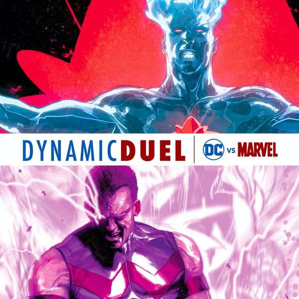 Captain Atom vs Wonder Man Image