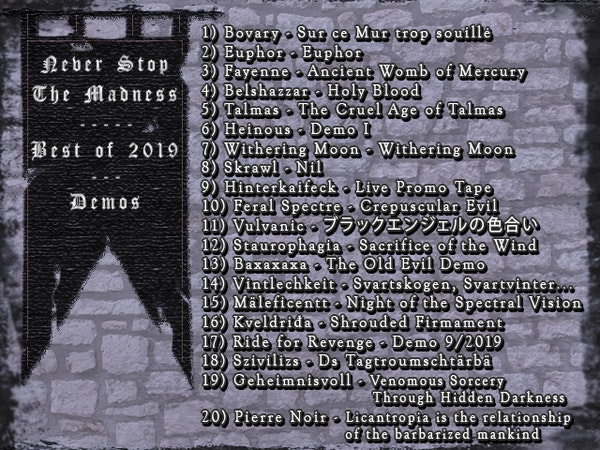 #407 - 01-07-20 - Best of 2019 : Demos