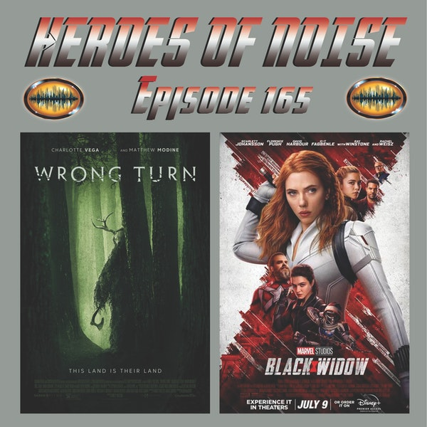 Episode 165 - Black Widow and Wrong Turn Image