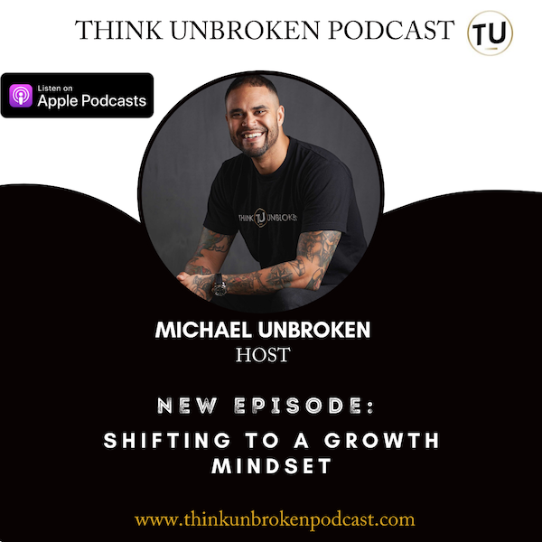 E90 Shifting to a growth mindset | CPTSD Coach Podcast Image