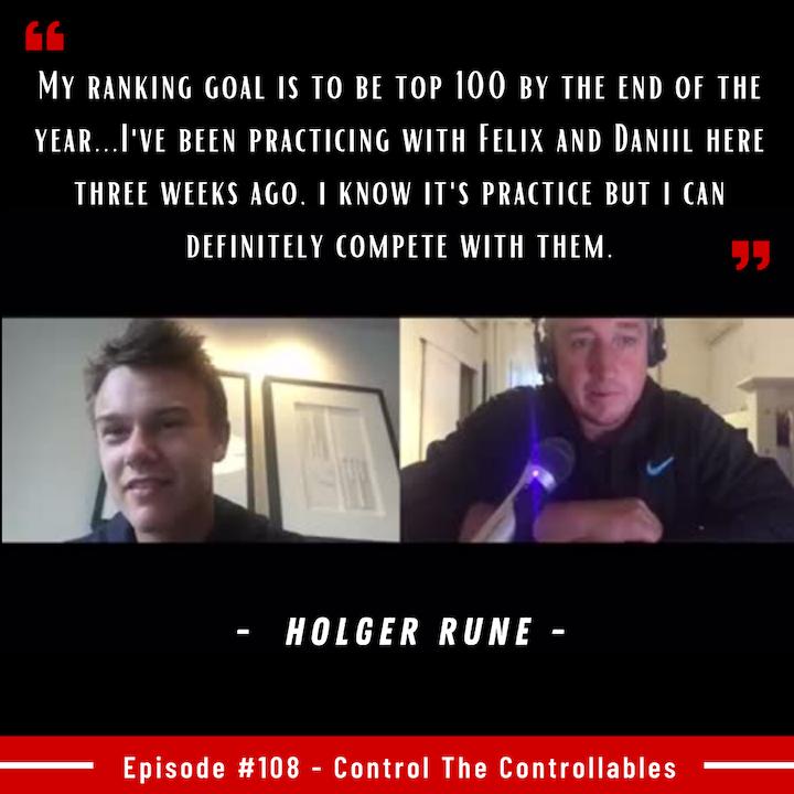 Episode 108: Holger Rune - No Doubt