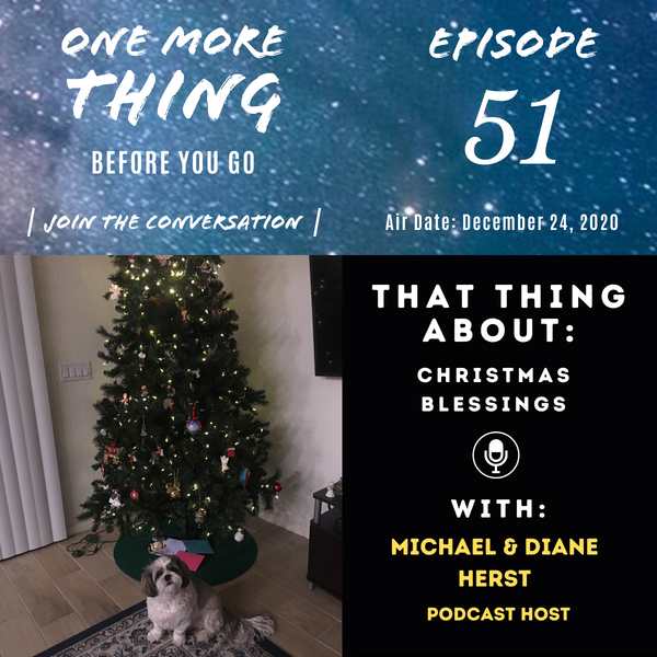 That Thing About Christmas Blessings Image