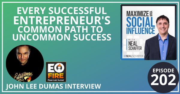 202: Every Successful Entrepreneur's Common Path to Uncommon Success (John Lee Dumas Interview) Image